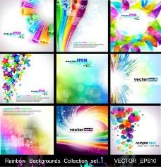 9個彩色背景集