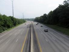 长长的高速公路