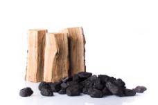 柴火与煤炭图片