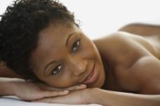 美容黑人美女图片