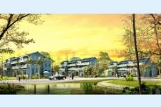 住宅小区建筑规划设计图片