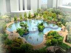 小区景观设计图片