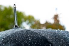 雨天的大伞图片