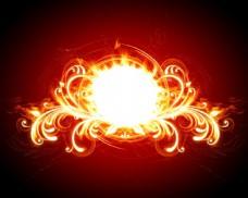 漂亮的火焰花纹图片