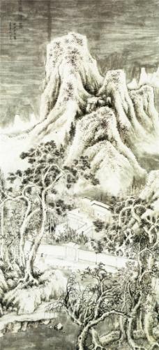 梁园积雪图装饰画