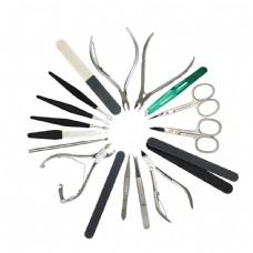 剪刀镊子摄影图片