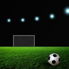 足球场摄影图片