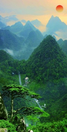 风景画  山水画