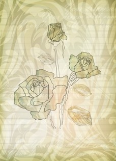 优雅玫瑰图案4