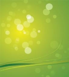 梦中绿色的背景