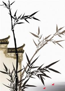 竹报平安装饰画