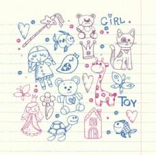 母婴宝宝儿童孩子涂鸦