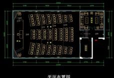 多功能厅、多媒体教室平面布置图