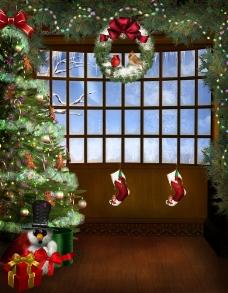 梦幻圣诞图片