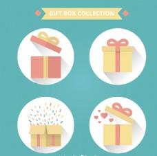 礼物 礼盒 礼物盒 礼物图标