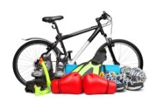自行车和体育用品图片