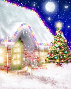 唯美圣诞节图片