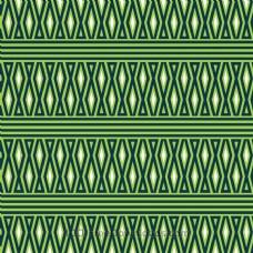 几何绿白图案