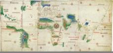 外国复古地图图片