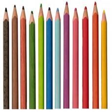 彩色铅笔背景图片