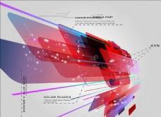 流线型线条背景图