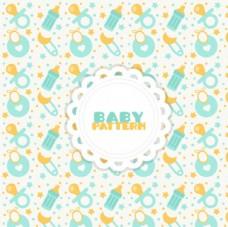 淡雅母婴儿童宝宝背景