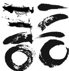 中国风笔墨