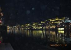 夜色古城楼