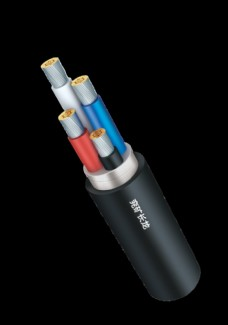 电缆3D展示图