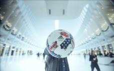 ADIDAS美职联比赛用球广告
