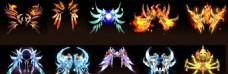 游戏人物翅膀素材