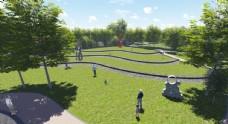 园林绿化景观设计施工图