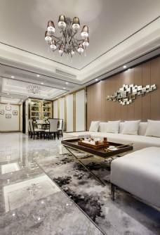 新中式家居之客厅效果