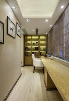 新中式家居之书房