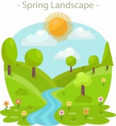春天的风景