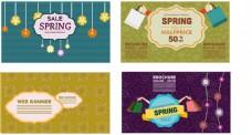 春季促销广告横幅