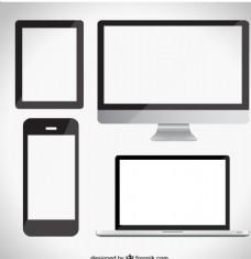 计算机手机类矢量素材