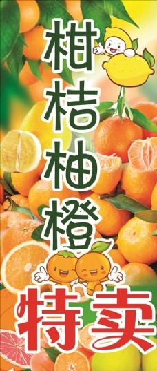 柑桔柚橙特卖