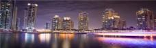 城市建筑banner背景