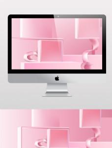 粉色背景1