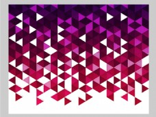 2017紫色创意三角形底纹元素H5背景