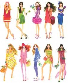 10款时尚女装设计图