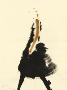黑色连衣裙设计图