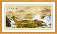 江山如此多娇装饰画