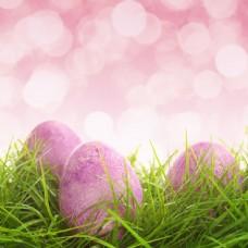 梦幻光斑与复活节彩蛋图片