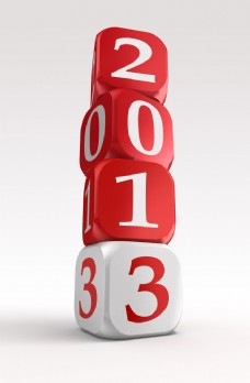 2013新年艺术字图片