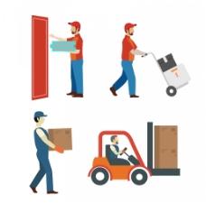 货物运输快递素材