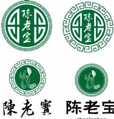 陈老宝标识设计