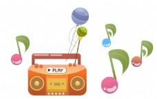 收音机 音符