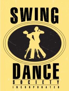 复古舞蹈海报